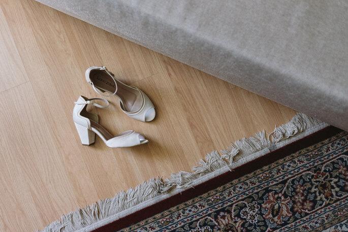 Sapato da noiva: Luana Zabot - Foto: Luciano Mendes Fotografia