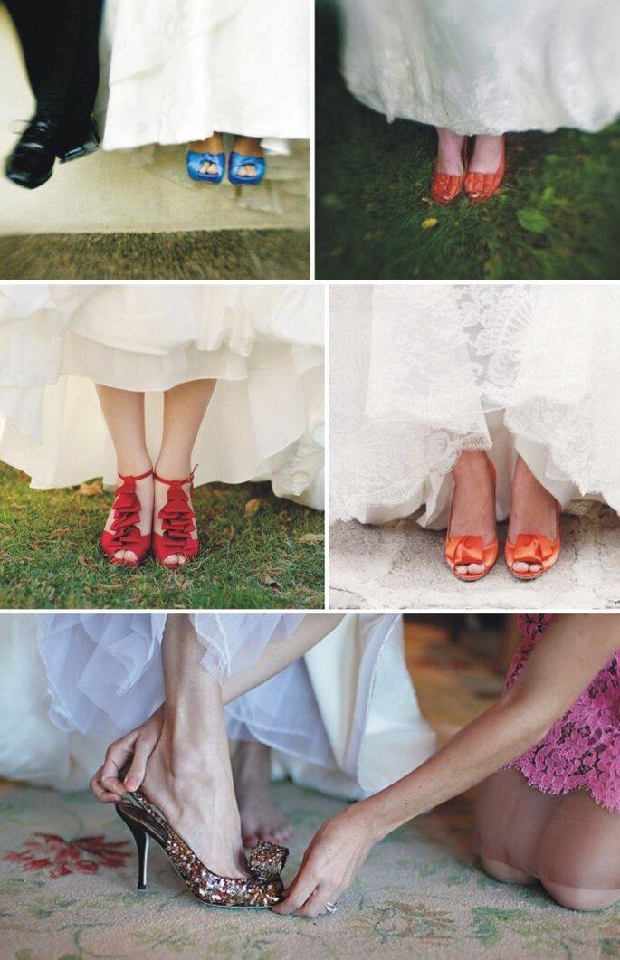 Sapatos de Noiva - www.vestidadenoiva.com