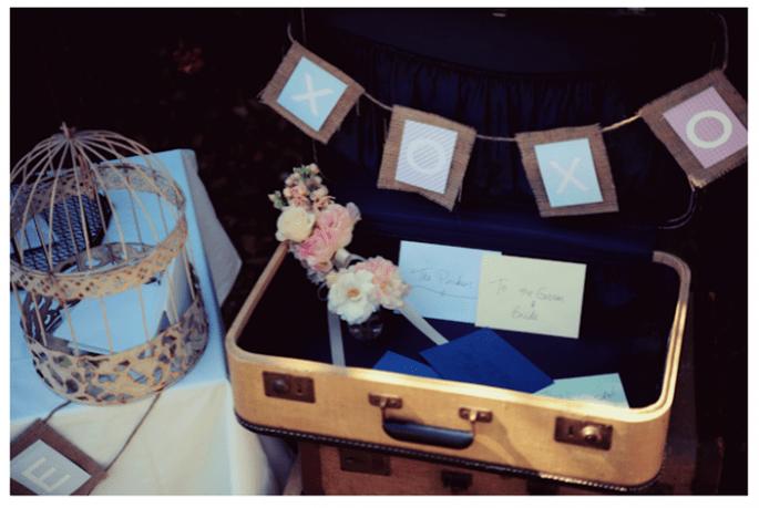 Decoración original para una boda vintage - Foto Jessica Fajardo