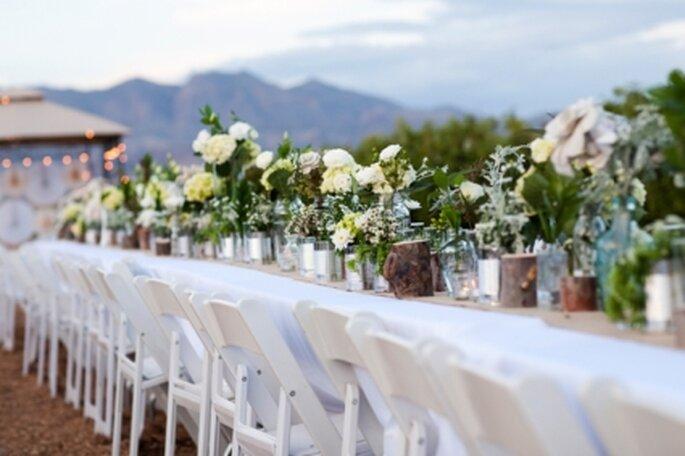 Centros de mesa para boda hechos por ti. Decoración original y