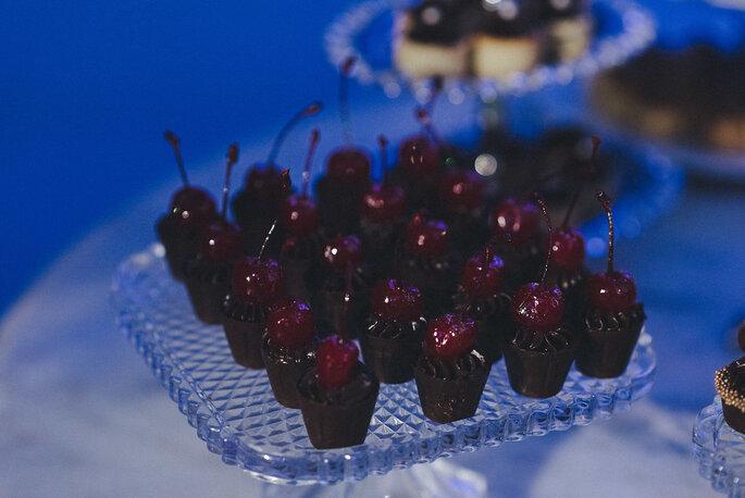 Chocolates com cereja