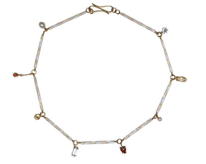 collares de pendientes de Beatriz Palacios