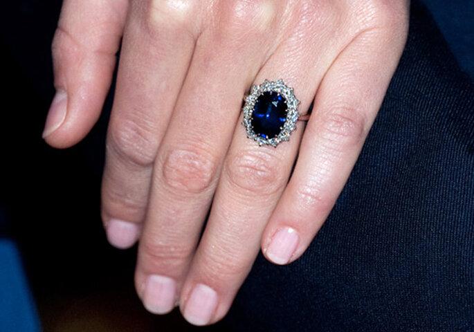 El anillo de pedida de Diana de Gales, hoy lo luce Kate