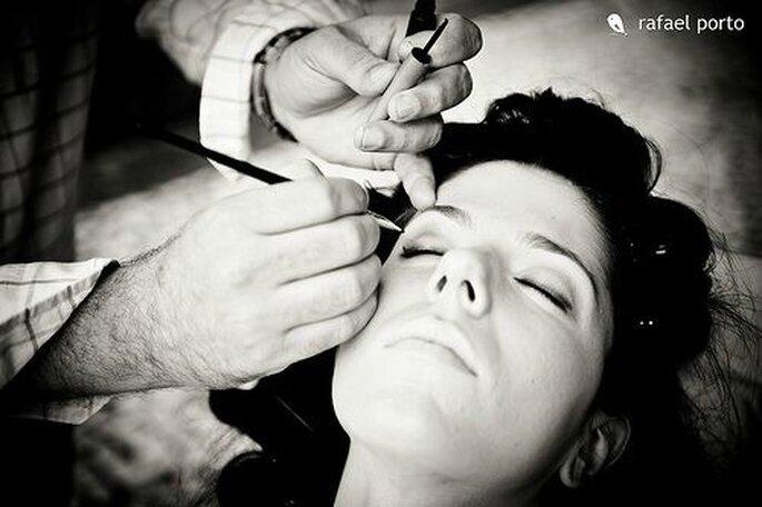 Le maquillage de la mariée, un point à ne pas négliger - Crédit photo : Rafael Porto