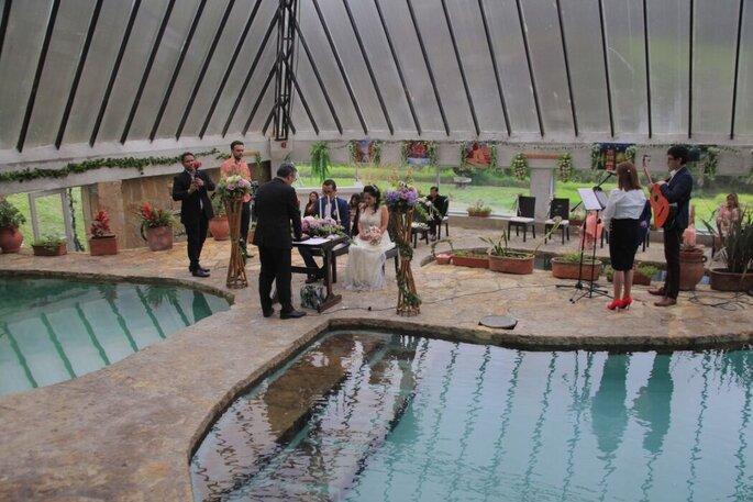 Club Dhuchi piscina termal Bogotá