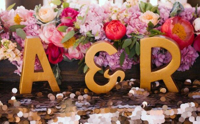 7 formas de personalizar la decoración de tu boda - Foto Amanda McKinnon Photography
