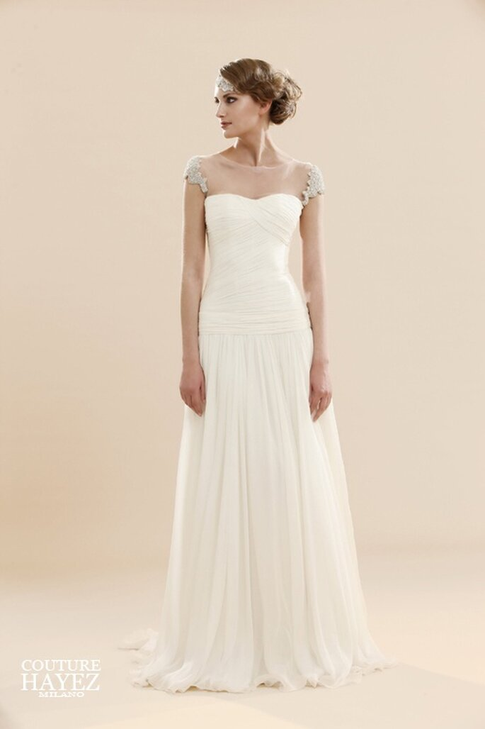 f231ea7d4b37 Abiti Da Sposa Hayez ~ Abiti da sposa come gioielli con couture hayez