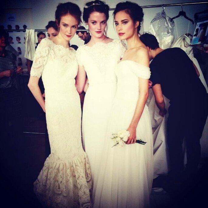 Marchesa, коллекция свадебных платьев 2015. Фото: соц. сети