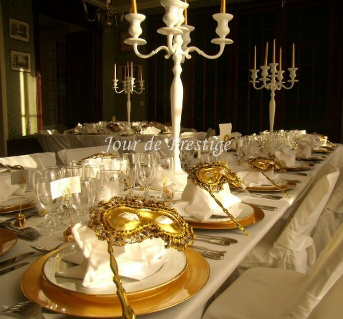 Venise comme thème de mariage : féerie assurée...