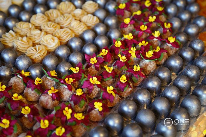 mosaico de doces