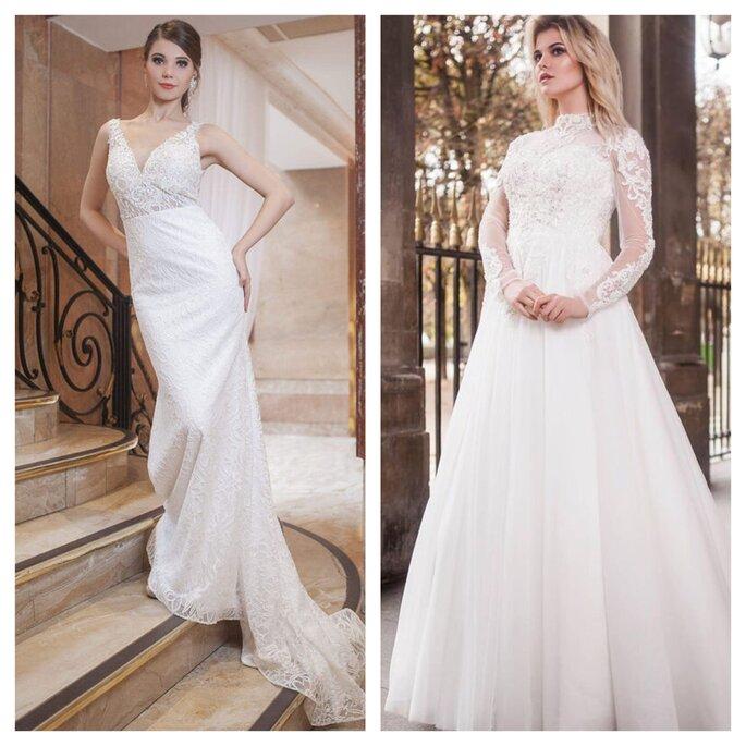 Boutique de robes de mariée en dentelle ou de créateurs