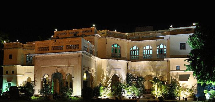 Photo: Hari Mahal Palace.