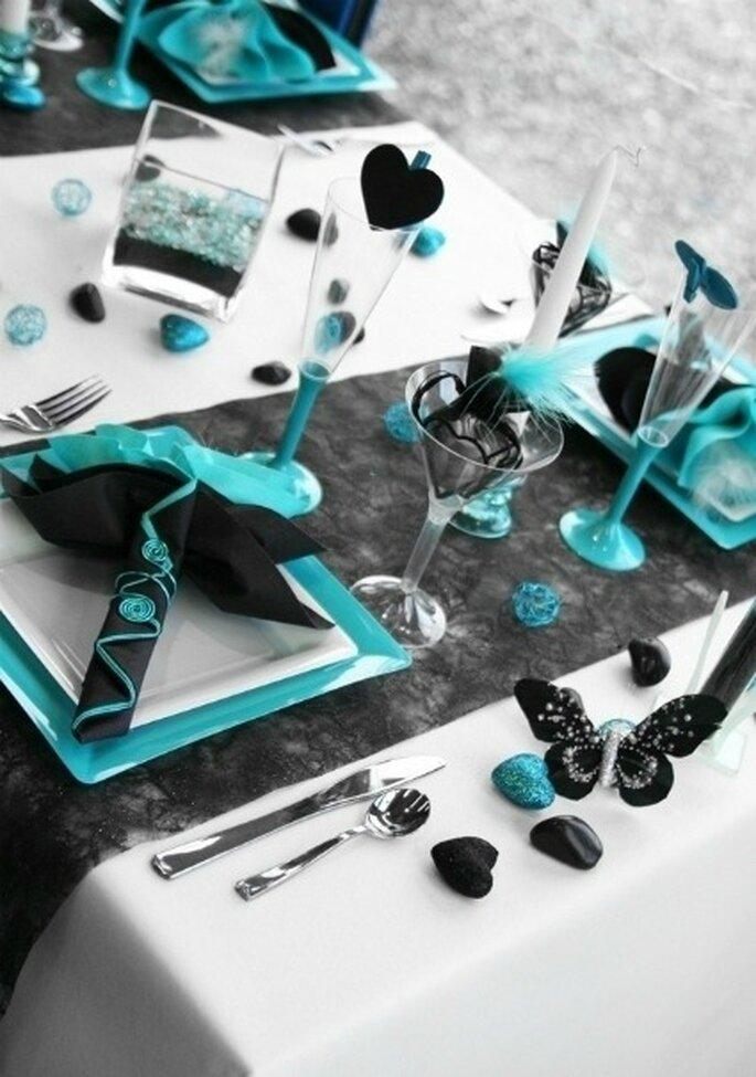 Le turquoise, une couleur top tendance. - Source : Féezia