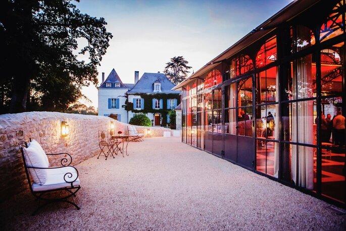 Une superbe verrière pour la réception de votre mariage : l'Orangerie