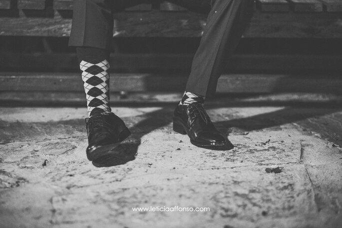Sapato do noivo preto
