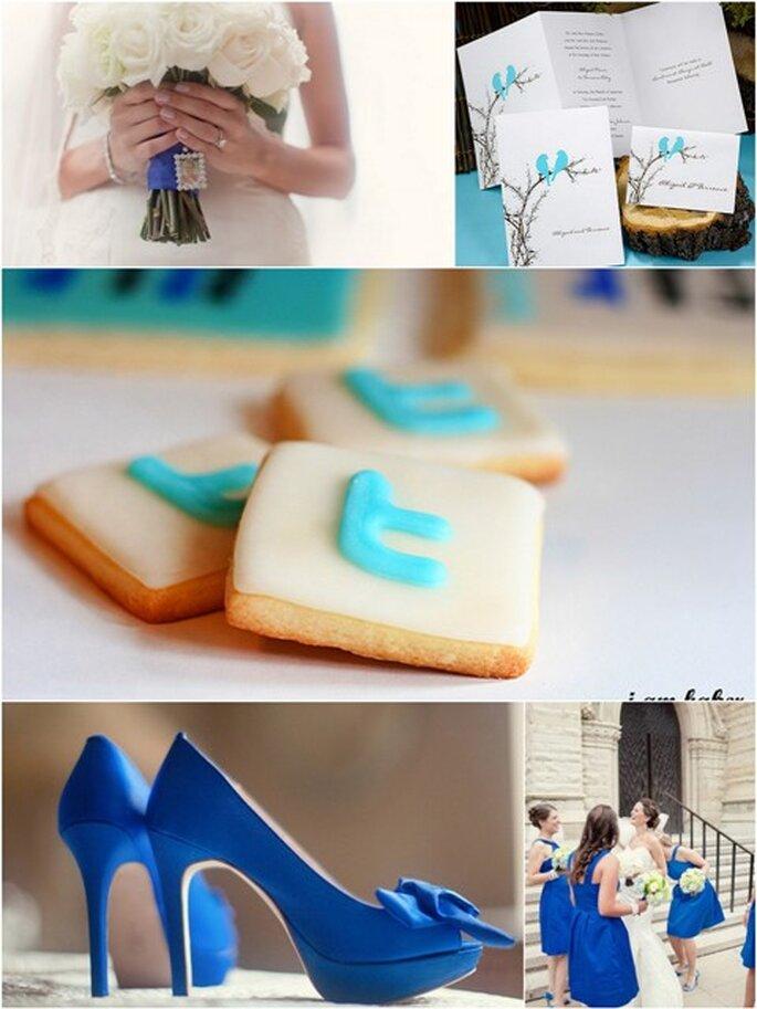 Una boda Twitter, fotografías de Clary Photography y I am Baker