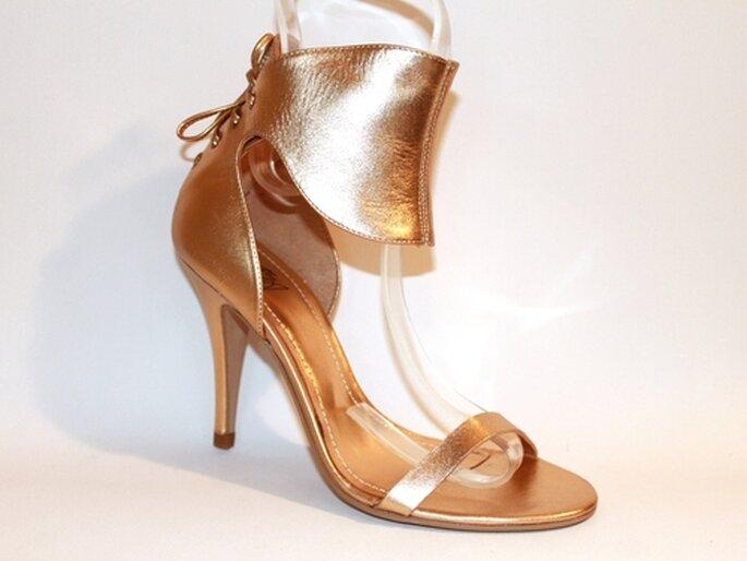 Guetty Sun - sandales de ville or