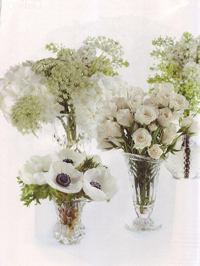 Flores y plantas naturales - Centros para decorar mesas ...