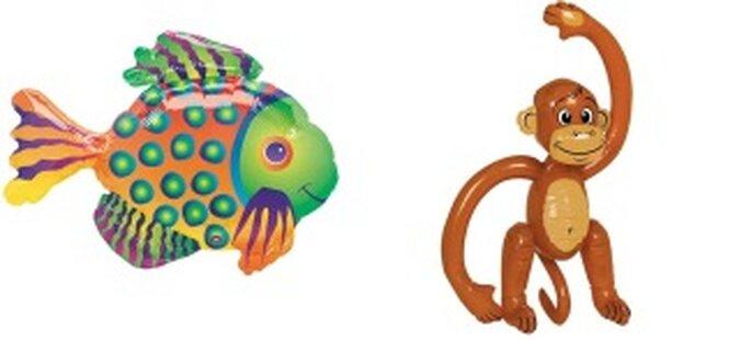 Ballons en forme d'animaux - Annikids.com