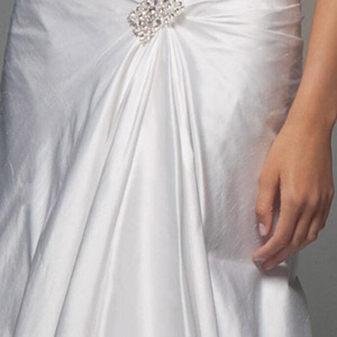 Robe de mariée Les privées Cymbeline 2011 - Eboni, en détail