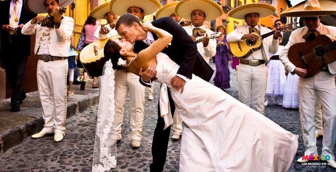 Lua de mel no México