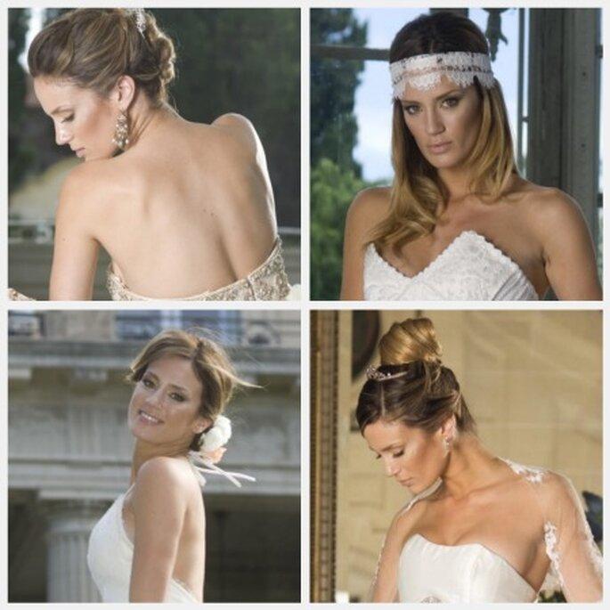 Paula Chaves te inspira para tus peinados de novia