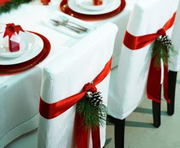 Decoração do casamento - Especial Natal