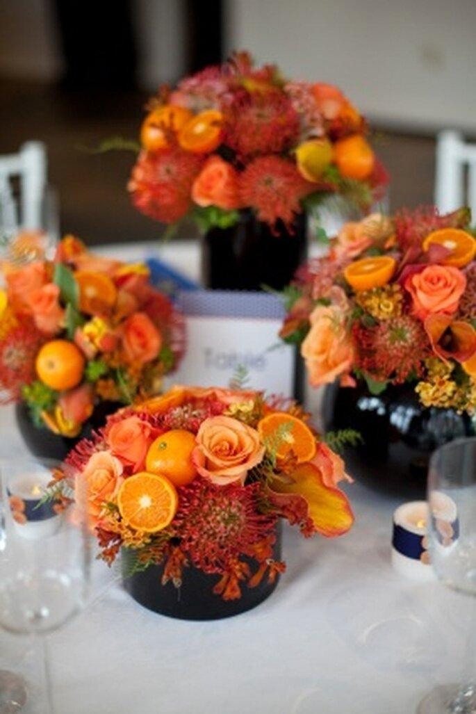 Centro de mesa para bodas de FlowerArrangementAdvisor