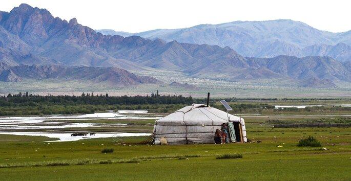 Campos da Mongólia