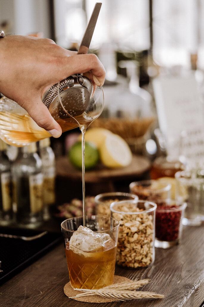 Skandi Chic - Hochzeitskonzept im skandinavischen Stil Bar