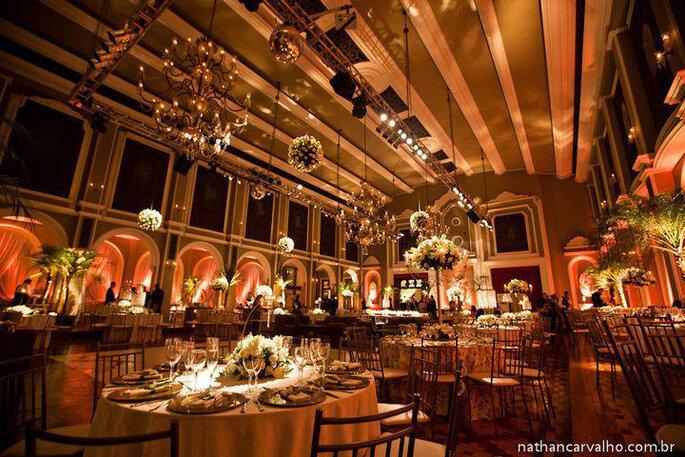 Projeto de casamento elegante e sofisticado