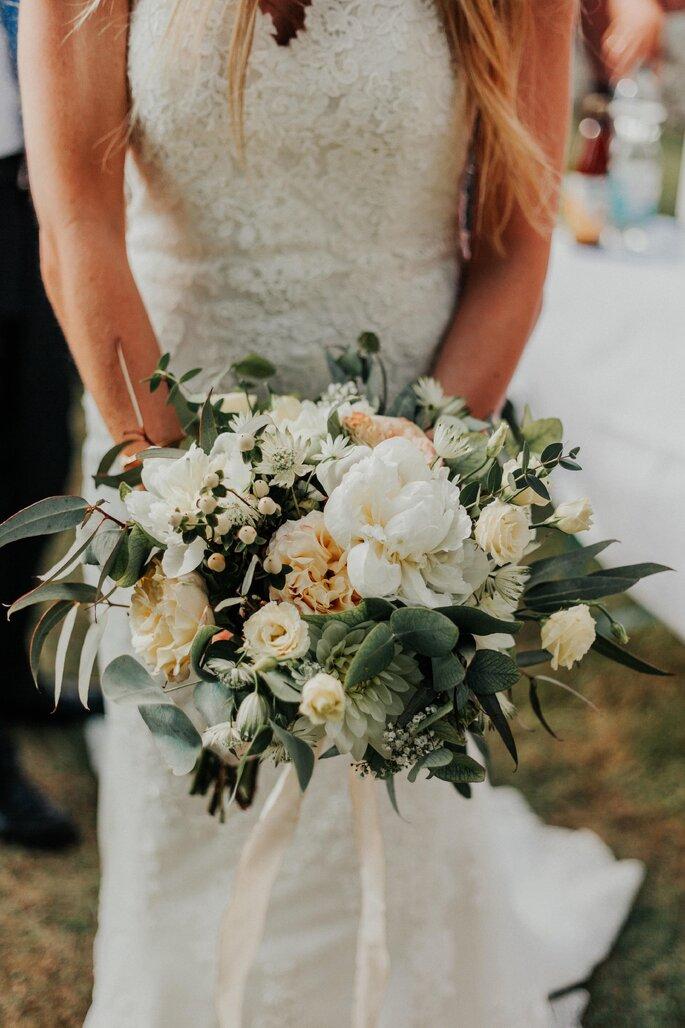 Der Brautstrauß im Boho-Style.