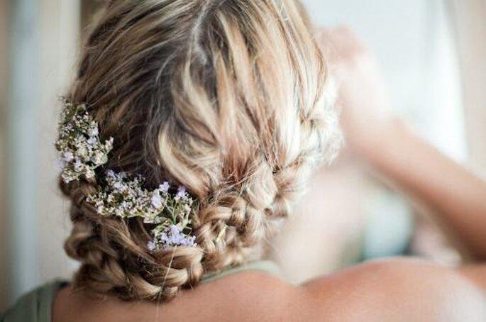 Peinados para bodas.Foto Nadia Meli.