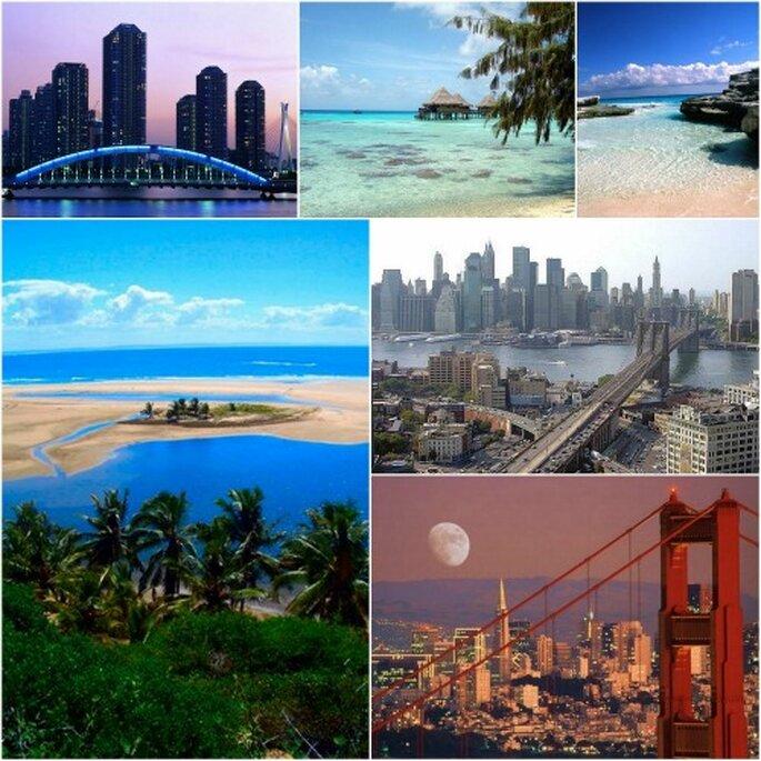 ¿Has elegido ya tu destino ideal para el viaje de novios?