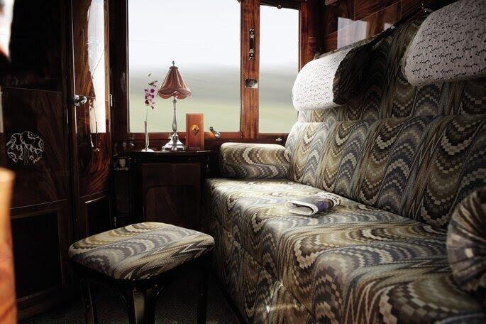Kabina w pociągu