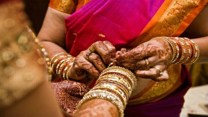 Culturas lejanas para una boda étnica