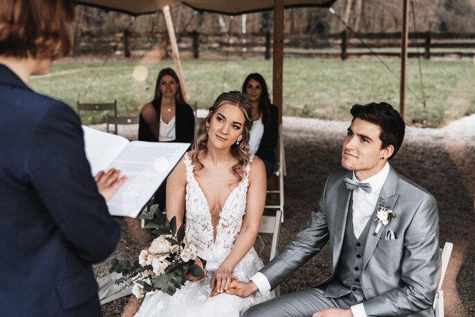 Intime Hochzeit, Eleganz trifft auf rustikalen Flair