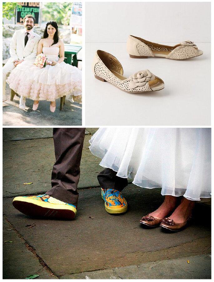 Sapatos de Noiva Rasos - www.bridalbar.com