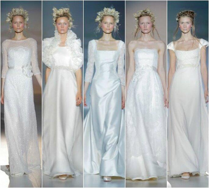 Victorio & Lucchino, colección 2014. Foto: Barcelona Bridal Week