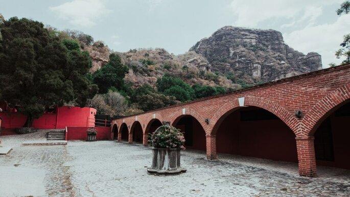 """Jardín """"El Suspiro"""" en Tepoztlán"""