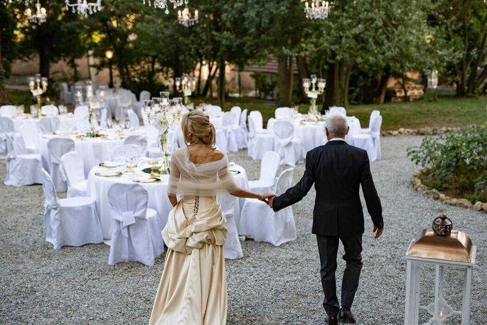 Matrimonio all'aperto ai Giardini La Pergola