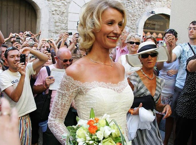 Mariage de jean dujardin et alexandra lamy alias chouchou for Dujardin traiteur