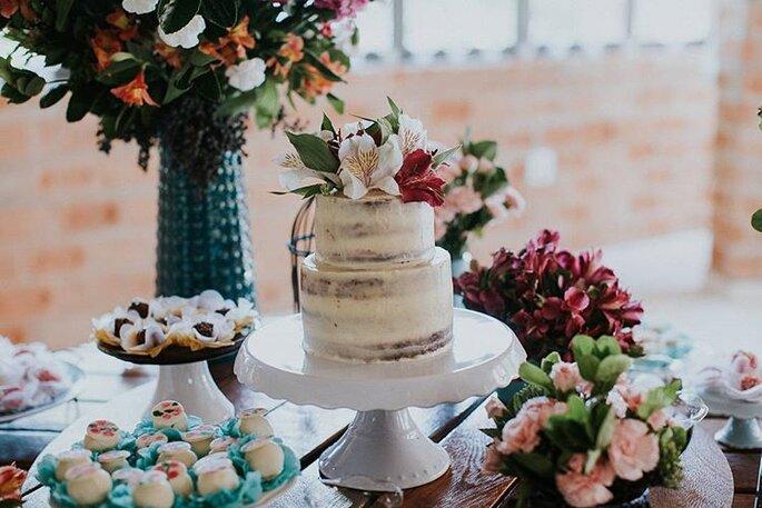Decoração para mini wedding