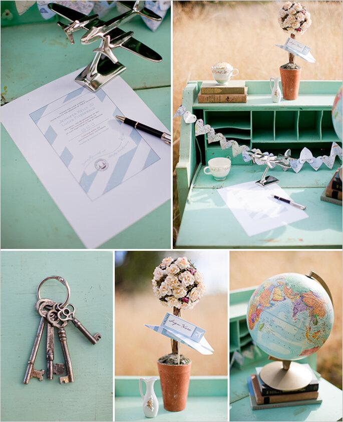 Spielerische Accessoires für Ihre Hochzeit  - Foto Cat Mayer Studio