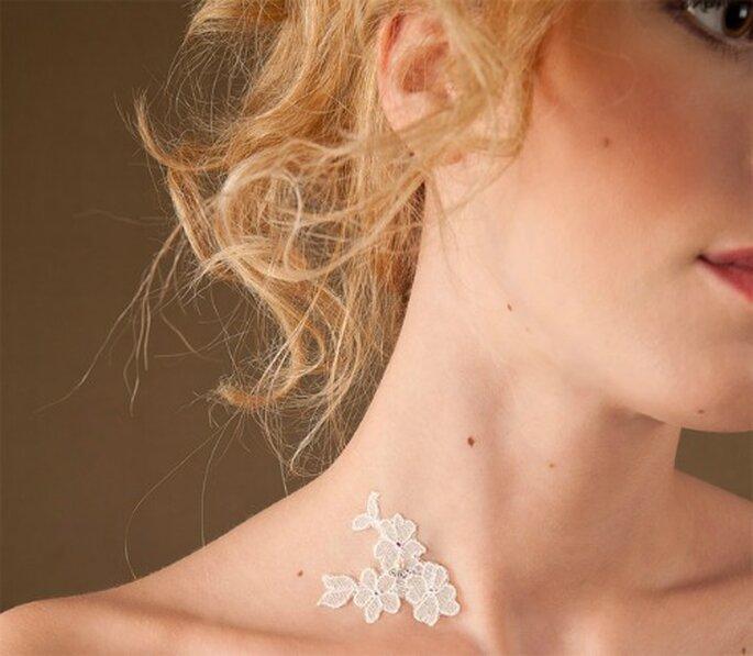 Bijou de peau : romantique à souhait ! - Source : Paulette à Bicyclette