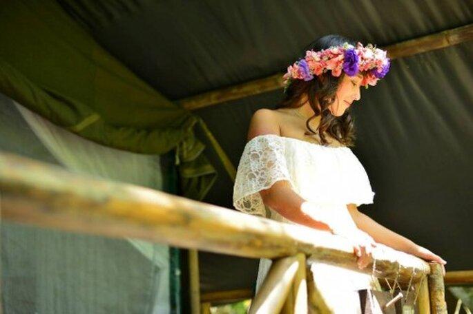 La boda bohemia de Ana Denisse y Gabriel. Fotografías Arteluxe Estudio