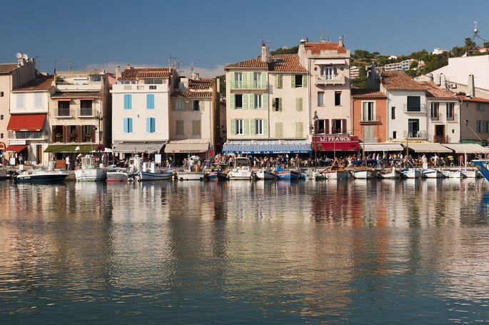 Cassis, Provence - WikiCommons