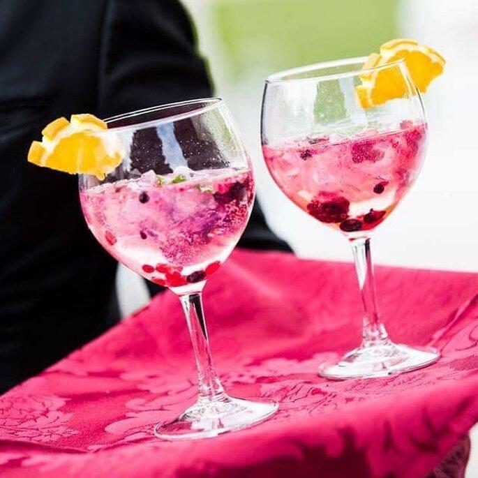 cocktail de casamento: sangria