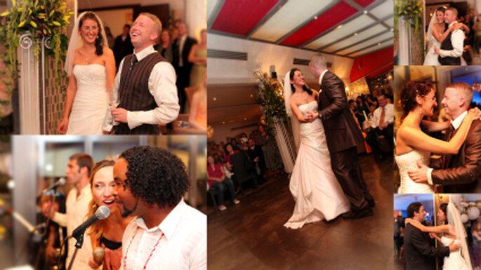 Hochzeitsparty mit Salsa Band