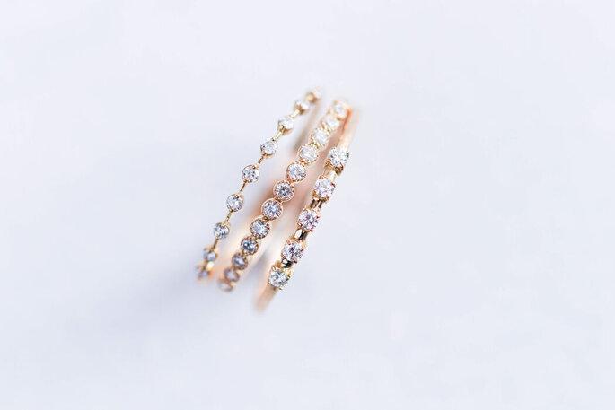 Deloison Paris - Alliance et bague de fiançailles en diamants - Paris